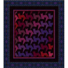 """Tessellating Tabbies"" pattern by Jinny Beyer"