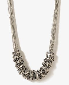 Twisted Ring Necklace | FOREVER 21 - 1011609555