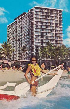 The Outrigger Hotel - Honolulu, Hawaii