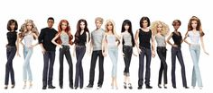 Looking for Collectible Barbie Dolls? Shop the best assortment of rare Barbie dolls and accessories for collectors right now at the official Barbie website! Fashion Dolls, New Fashion, Barbie Games, Barbie Paper Dolls, Barbies Dolls, Barbie Basics, Womens Capri Pants, Barbie Collector, Barbie World