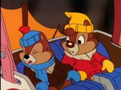 *CHIP 'N' DALE ~ Chip 'n' Dale Rescue Rangers (TV Series 1989–1990)