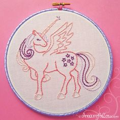 26 Fun and Free Embroidery Patterns |Flamingo Toes
