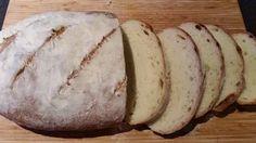 Ana's food - Home Bake White Bloomer Bread. Easy, no fuss recepie