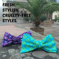 Fresh, cotton, vegan bow ties. Made in Europe, ship wordwide. www.artisara.com