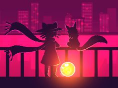 Niko and Rue by Nightmargin Animation by darobs64