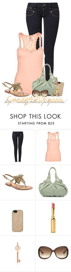 """""""Untitled #155"""" by candy420kisses ❤ liked on Polyvore featuring Freeman T. Porter, Pepe Jeans London, Naughty Monkey, Gucci, Coach, Jane Iredale, Tiffany & Co., Jimmy Choo and Lucky Brand"""