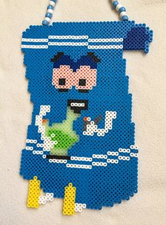#South_Park Towelie Large Perler by KandiWitchcraft