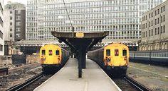 Holborn Viaduct London History, Electric Train, British Rail, London Transport, Electric Locomotive, Emu, London England, Transportation, Train
