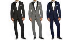 Braveman Mens Slim Fit Shawl Collar Tuxedo with Free Bow Tie for $70 http://sylsdeals.com/braveman-mens-slim-fit-shawl-collar-tuxedo-free-bow-tie-70/