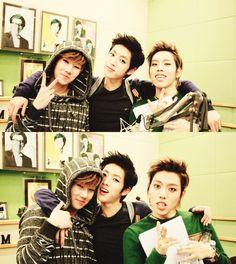 SungGyu, SungYeol & DongWoo