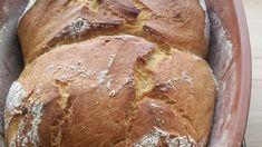 Leckeres Zwillings-Brot mit Schmand im Römertopf - Rezept | Frag Mutti Chef Recipes, Breads, Kuchen