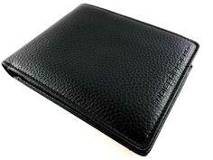 Porsche Design P'3300 Cervo 2.0 Wallet BillFold H4 - Black Leather - 4090000441 - MarteModena
