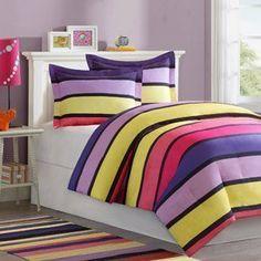 purple and yellow tween bedroom - Google Search