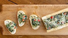 Spinach Dip in French Bread Recipe on Yummly