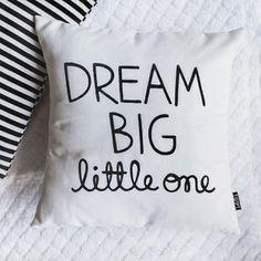 Dream Big Little One Pillow Cover   shoptippi.com