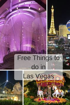 "Las Vegas is famous for its casino and nightlife, but its comes with a cost. Most people thinks this place is for bachelor's but Vegas is a family-friendly place. Check out my list of ""Free Things to do in Las Vegas"". Free Things to do in Las Vegas Bellagio fountain Show The fountain show of Bellagio …"