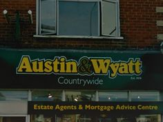 Outside Austin & Wyatt on 690 Wimborne Road in Bournemouth