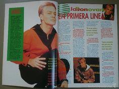 Revistas de música: MAC nº 8, 1 jul 1990. Portada Jason Donovan. Michael Jackson, La Toya, NKOTB, Daryl Hannah. 16 pág. - Foto 4 - 57303100