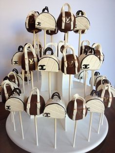Purse Cake Pops