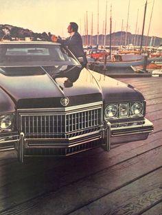 1973 Cadillac DeVille Ad