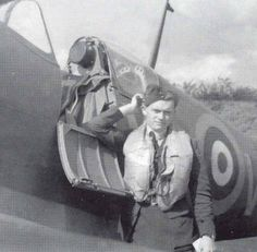 """A month after No 603 Squadron RAF had been becoming active from RAF Hornchurch, P/O Philip M """"Pip"""" Cardell was believed to have been wounded in an engagement over the Channel on 27 September, bailing out at 500ft just off-shore at Folkestone. Failing to attract attention to his friend's plight by making low passes over the harbour, P/O Peter G Dexter bellied his Spitfire Mk I on the beach, commandeered a boat and headed for the 23-year-old pilot, only to bring his body ashore."""