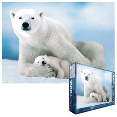 Wonderful Wildlife Polar Bear Jigsaw Puzzle 500 Pieces Forever Clever