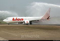 Welcoming of the first Boeing 737-8MAX Lion Air PK-LQJ to serve and fly in Indonesia with water salute ceremony!. PK-LQJ. Boeing 737-8 MAX. JetPhotos.com is the biggest database of aviation photographs with over 3 million screened photos online!
