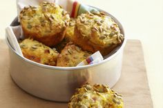 Muffin Pans, Canned Corn, Snack Box, Prosciutto, Skewers, Ham, Healthy Recipes