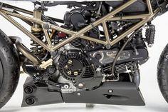 Motobene Ducati Monster 1000 Cafe Racer project 6