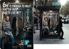 Bus stop is always a hot place for advertising. Basically, when you are waiting for bus. so you look around, even read every words Street Marketing, Guerilla Marketing, Bus Stop, Advertising Design, Marketing And Advertising, Digital Marketing, Inbound Marketing, Effective Ads, Lets Go