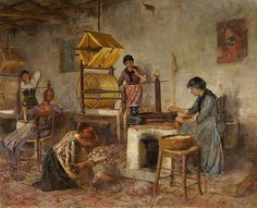 File:Annie Renouf Whelpley Frauen in der Webstube 1893.jpg