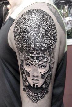Ancient-Mayan-Tattoo-Designs-8.jpg (600×894)