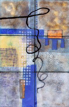 """12""""x18"""" enamel on copper by Britt Densford"""