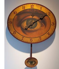 Gilbert Clock Company - Eye clock, 1902