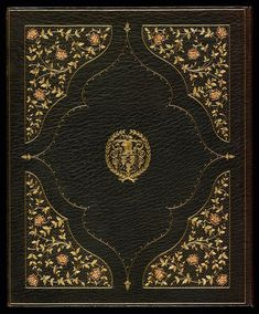 Zaehnsdorf binding, 1914 The eastern theme of Landor's Poems from the Arabic and Persian (1800) is reflected in this richly decorated goatskin binding by Zaehnsdorf of London. Stamped in the centre is the armorial of Alexander H. Turnbull.