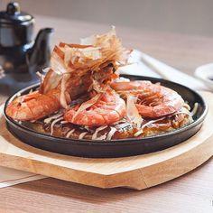 Okonomiyaki de marisco #Hanakura