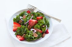 Kale Salad with Pecans and Fruit on Munchery