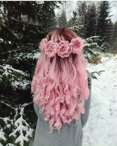 Hair Care Tips. Tips regarding awesome looking hair. Your own hair is certainly what can certainly define you as an individual. To several people today it is undoubtedly vital to have a great hair do. Pastel Hair, Ombre Hair, Pastel Pink, Blonde Hair, Pretty Hairstyles, Braided Hairstyles, Pink Hairstyles, Short Hairstyles, Hairstyle Ideas