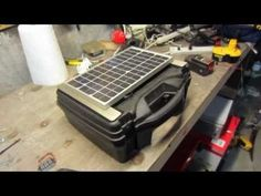 Build a high quality PORTABLE Solar Generator For $150 - YouTube