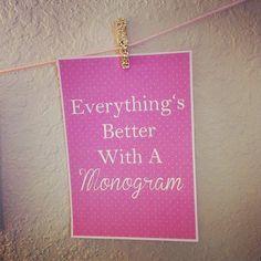 16 Best Monogram Quotes images | Monogram, Quotes, How to ...
