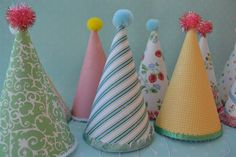 vintage party hat tutorial