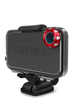 OutRide multisport case for the iPhone. It has interchangeable attachments for specific environments, like recording underwater. I love it!