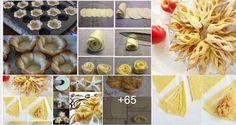 Ötletes finomságok ahol a fotók magukért beszélnek - Nagyon tetszik!!! Kis dolgokból mekkora csodákat lehet készíteni Coffee Break, Bread, Vegetables, Cooking, Sweet, Desserts, Cupcakes, Food, Flaky Pastry