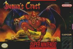 For sale: 'Demons Crest' SNES cartridge. Considered as one of the best SNES games ever made. Dark, yet not spooky... very castlevania like. SIX HOURS LEFT!!!!