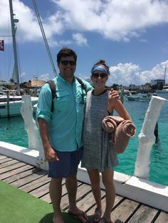something lovely blog // Honeymoon catamaran tour in Isla Mujeres
