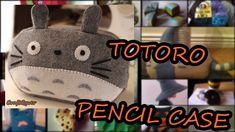 Totoro Pencil Case diy tutorial