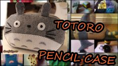 Totoro Pencil Case diy tutorial