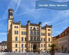 #Zittau is a small and cozy city in the south east of the #Free State of Saxony, Germany, close to the border tri-point of #Germany, #Poland, and the #Czech Republic. This #City Hall was built in Italian palazzo style between 1840 and 1845, #Designed by Karl Friedrich Schinkel.   We are would like to show you this nice city and of course to show you our 4 houses for sale with great price and future #investing #opportunity.