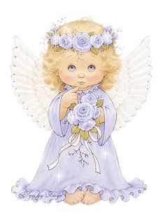 Ange, illustration de Ruth Morehead, que j'ai retravaillé afin d'en obtenir… Angel Images, Angel Pictures, Cute Images, Cute Pictures, Bing Images, Baby Engel, Angel Clipart, I Believe In Angels, Images Vintage
