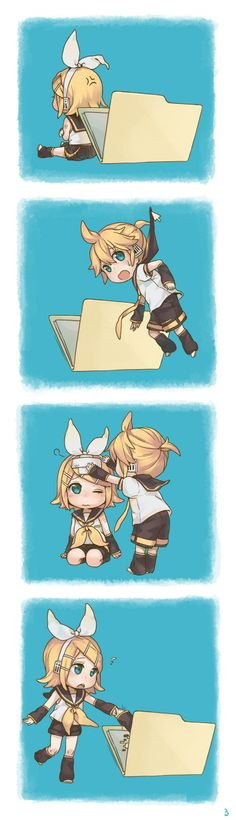 Vocaloid - Chibi Rin and Len : Computer File Part 2 / 2
